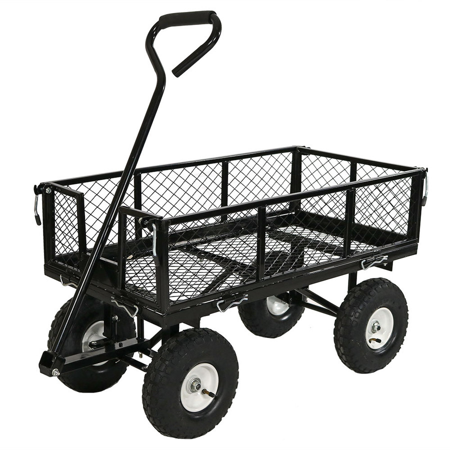 Black Cart without Liner Attached