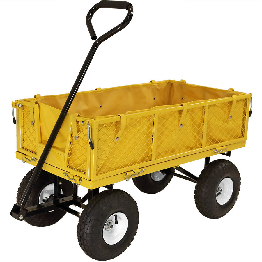 Yellow Cart with Liner
