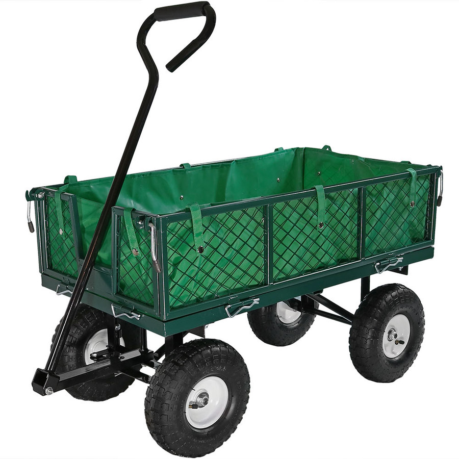 Green Cart with Liner