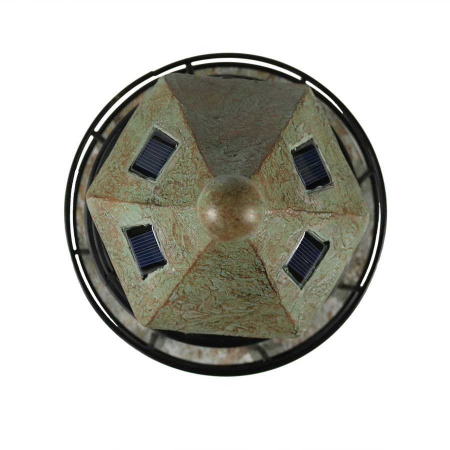 Top View of Solar Panels