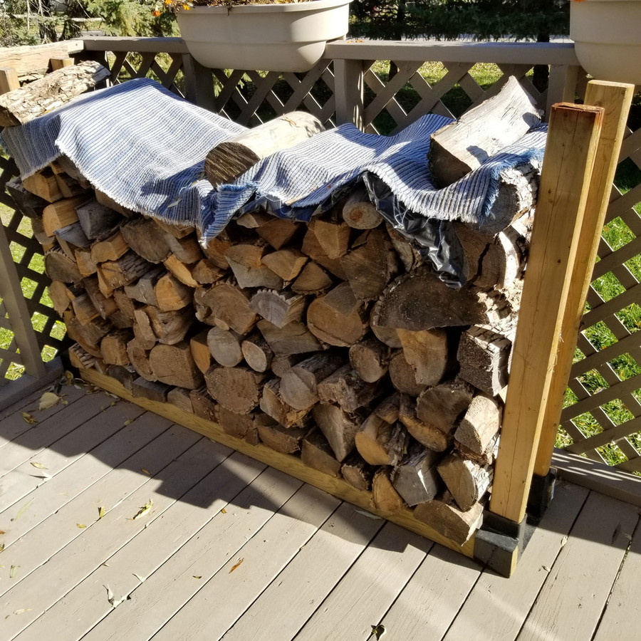 Shown with Lumber and Firewood (not included)