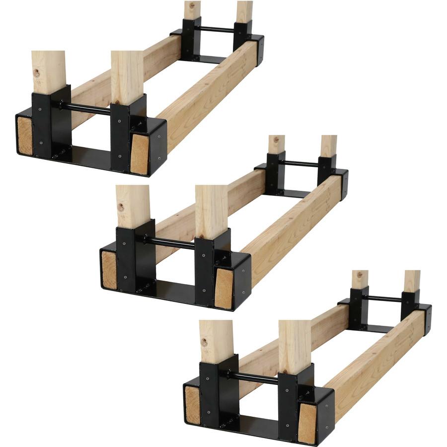 3 Sets of 2 Brackets