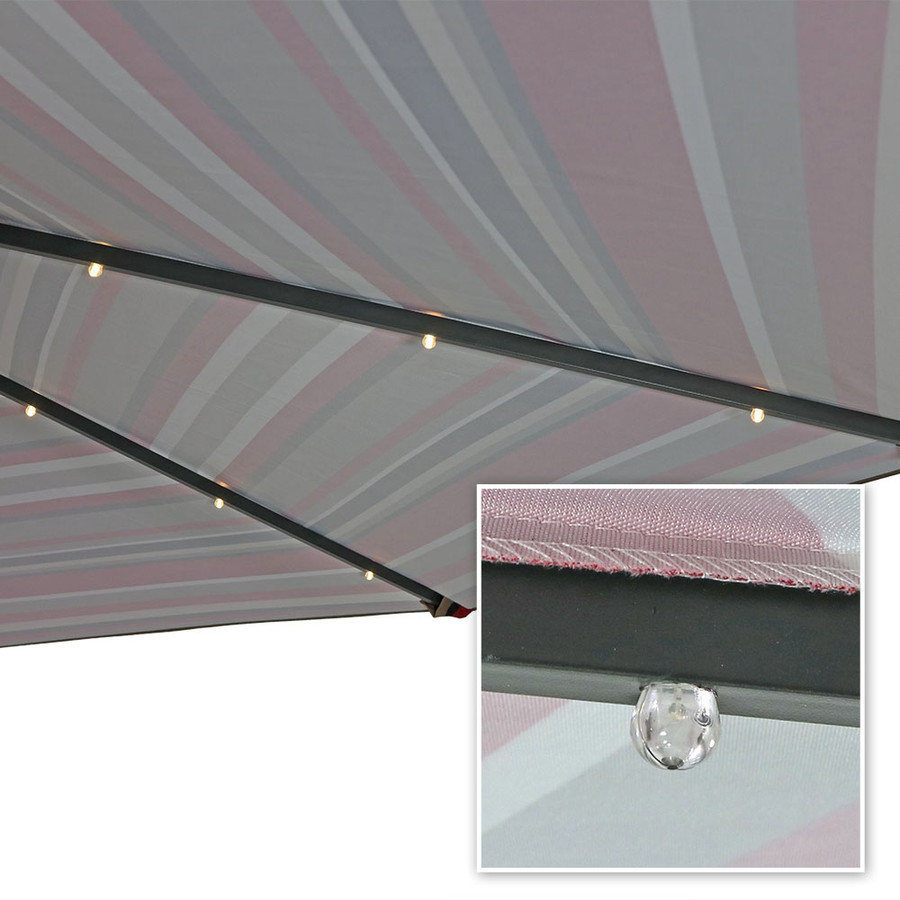 Awning Stripe Light Closeup