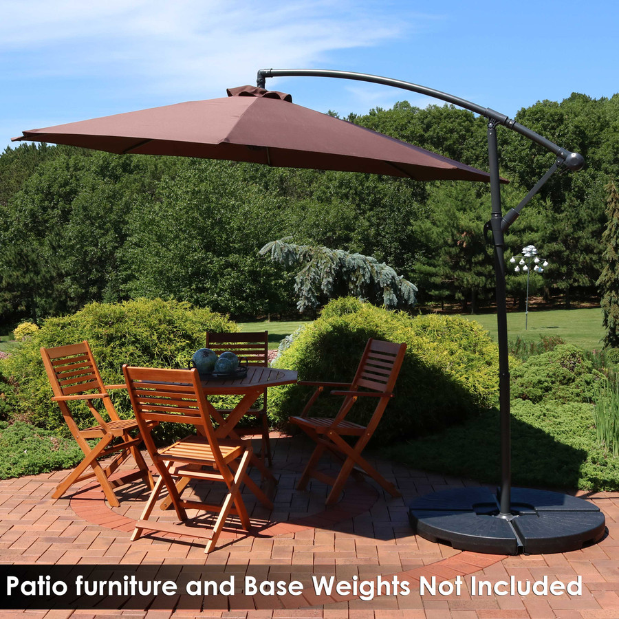 Patio Furniture and Base Weights Not Included