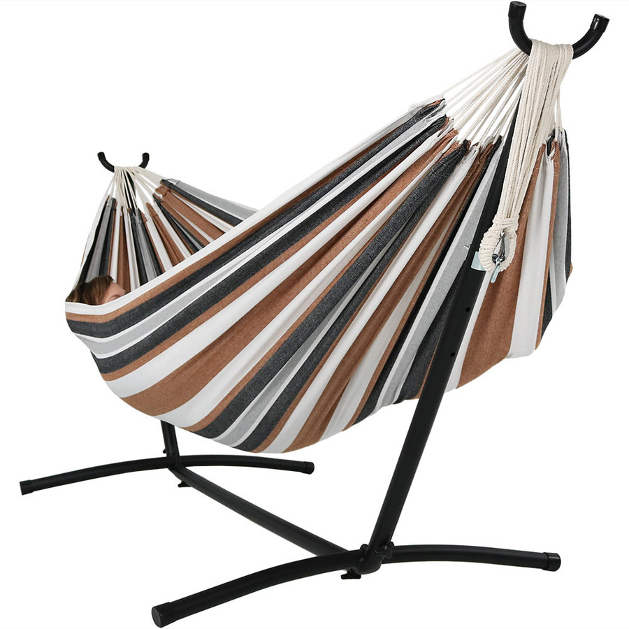 Calming Desert Hammock on Stand