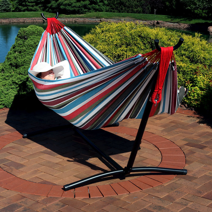 Cool Breeze Hammock with Stand