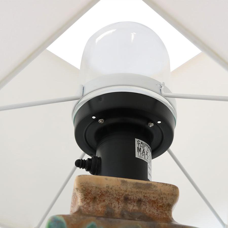 Closeup of Protective Glass Top