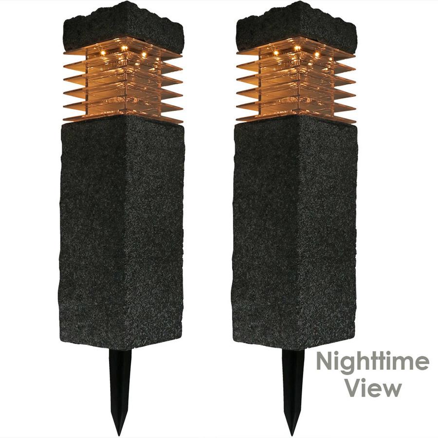 Two 18-Inch Nighttime