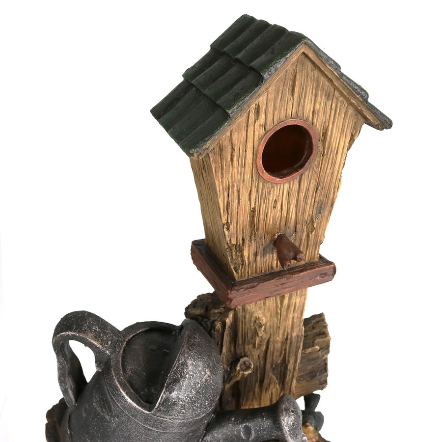 Closeup of Birdhouse