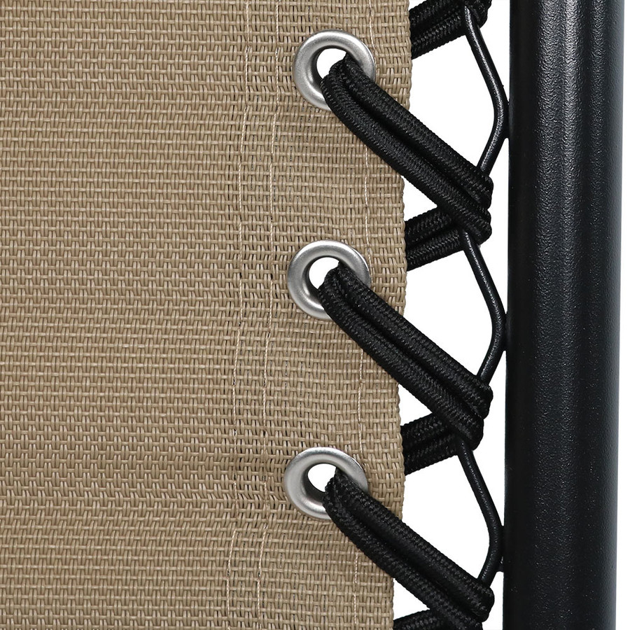 Khaki Double Woven Bungee Cord