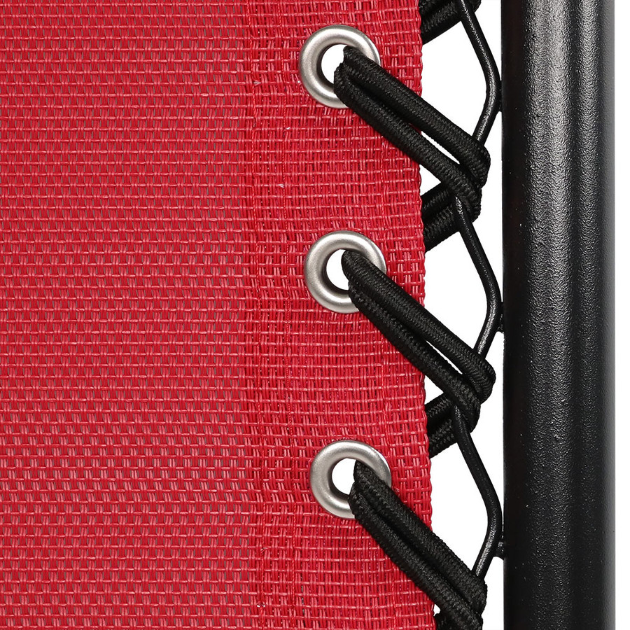 Red Double Woven Bungee Cord