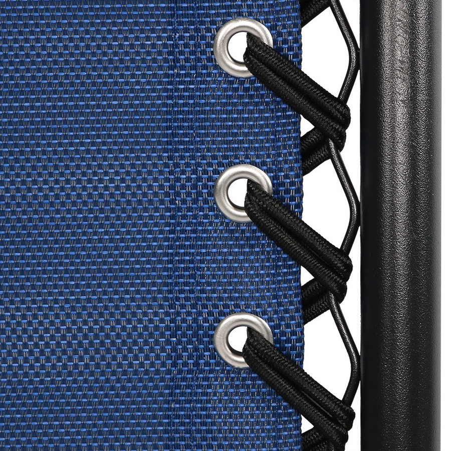 Navy Blue Double Woven Bungee Cord