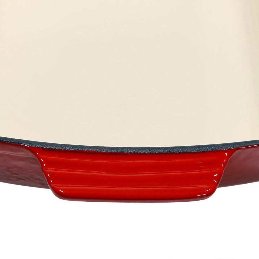 Enameled Cast Iron Baking Dish Handle