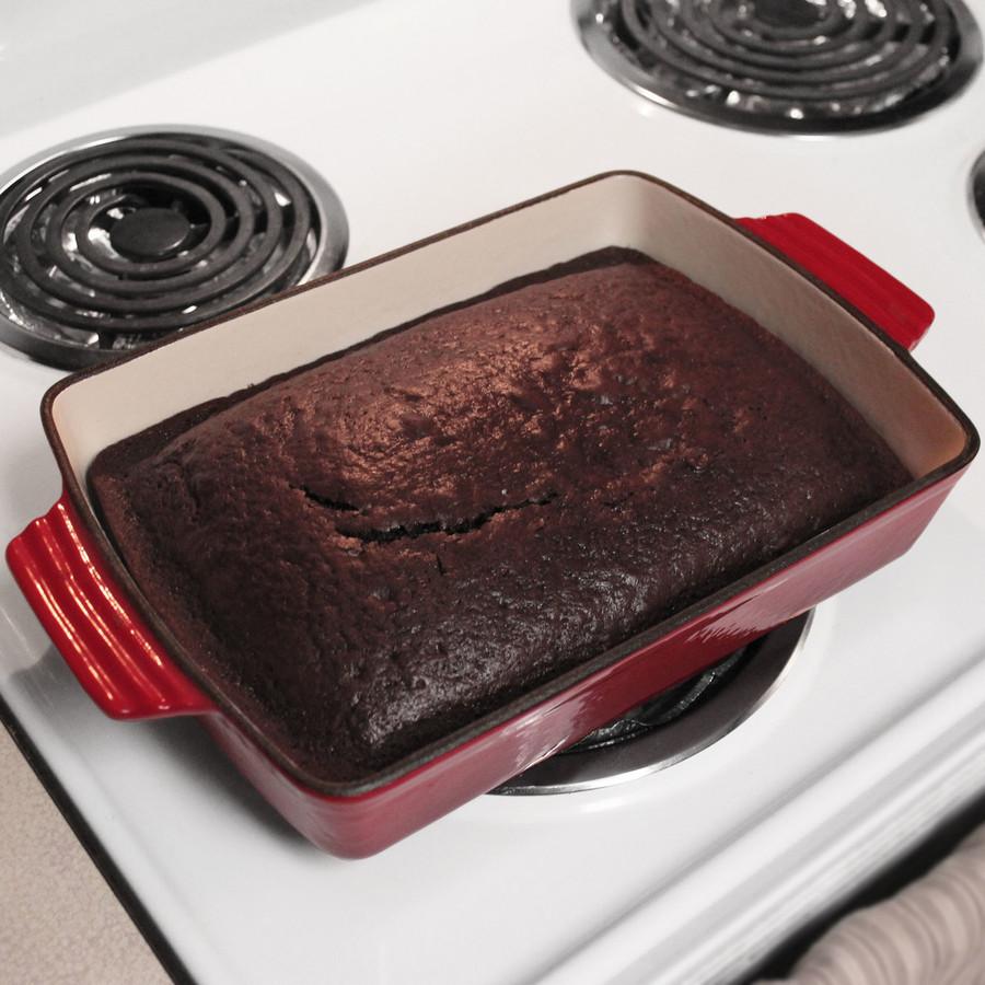 Enameled Cast Iron Baking Dish