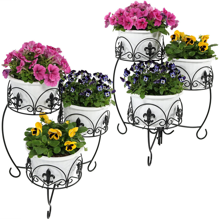 2 Plant Stands (Flowers not Included)