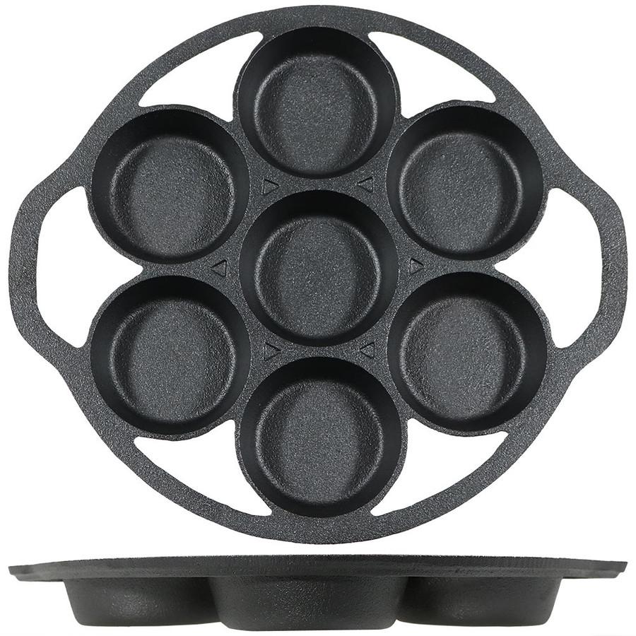 Drop Biscuit Pan Side View