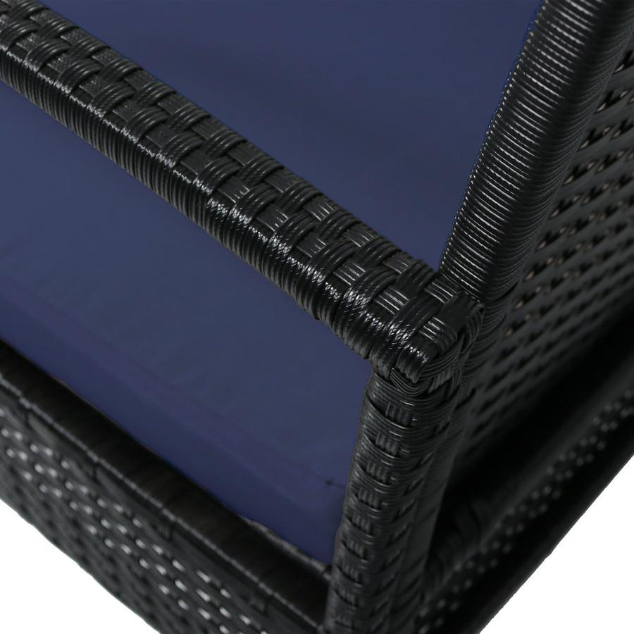 Closeup, Dark Blue