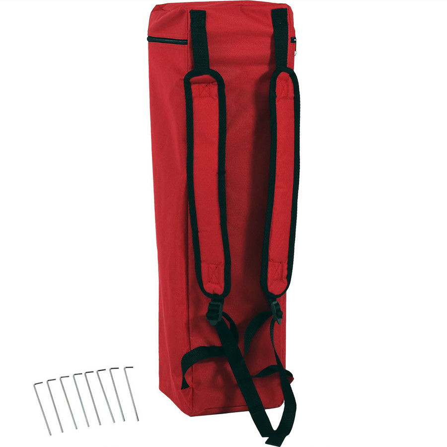Red Backpack Carrier