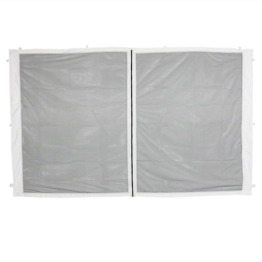 1-Panel-10 Foot Straight Leg Zippered Mesh