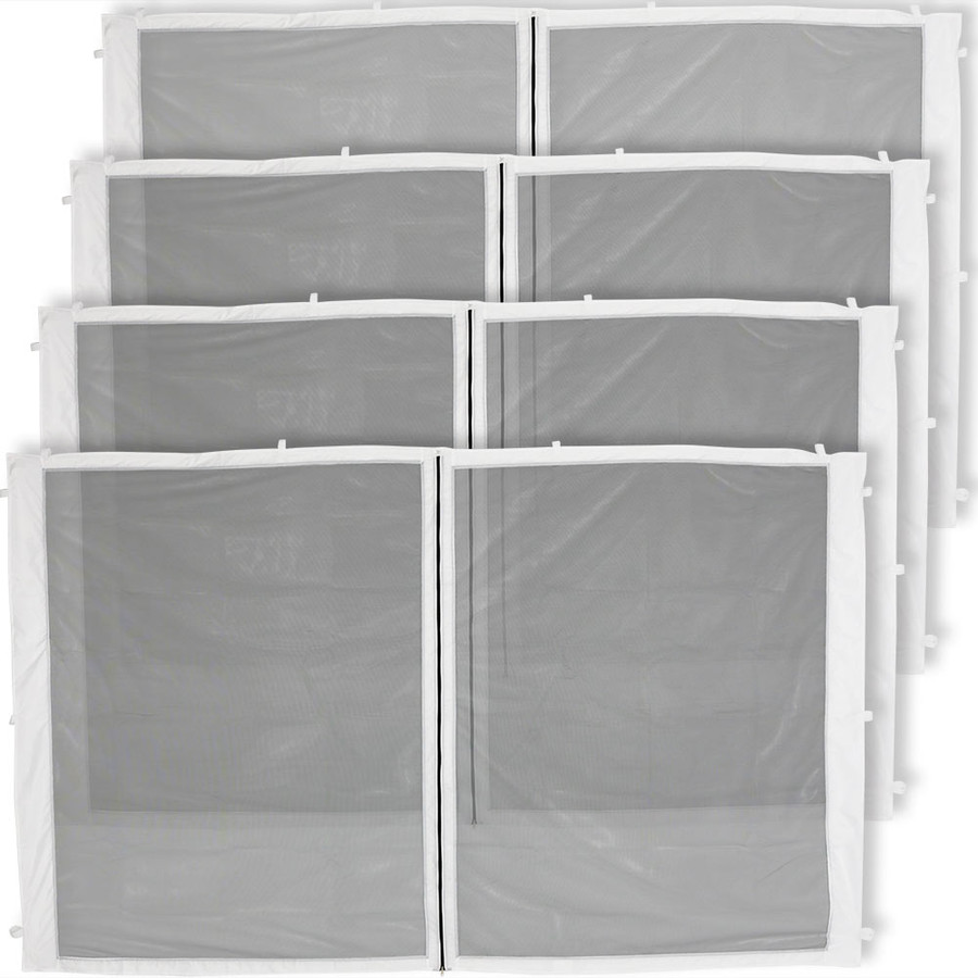 4-Panel-10 Foot Straight Leg Zippered Mesh Kit