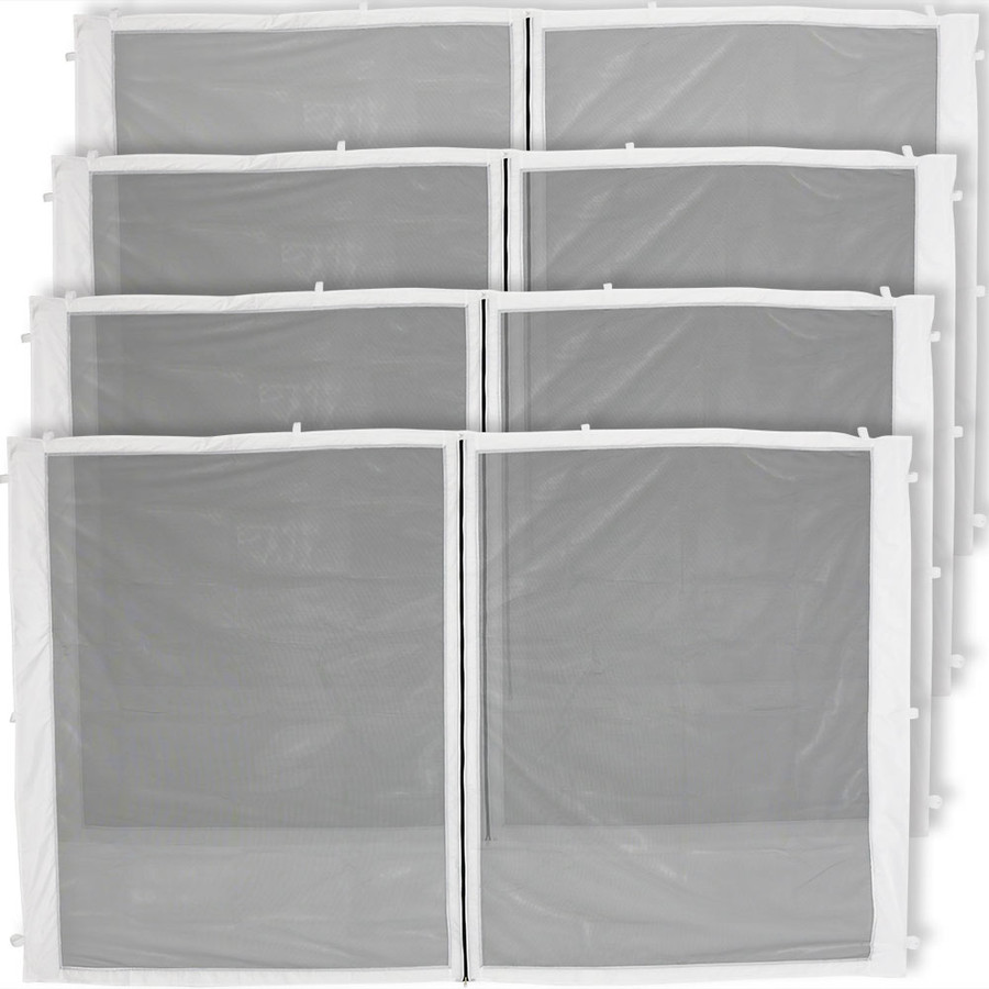 4-Panel-12 Foot Straight Leg Zippered Mesh Kit