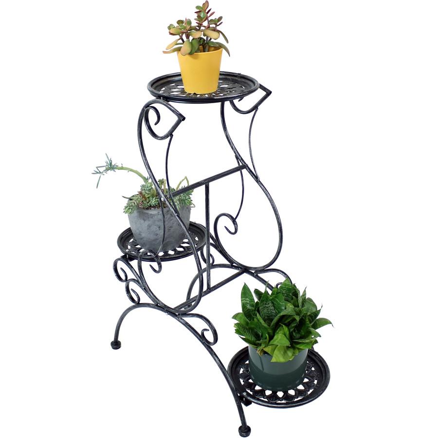 3-Tier Victorian Indoor/Outdoor Plant and Flower Stand