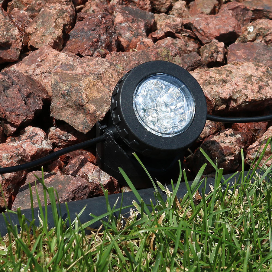 Sunnydaze Solar Powered LED Multi-Color Lights, Set of 3