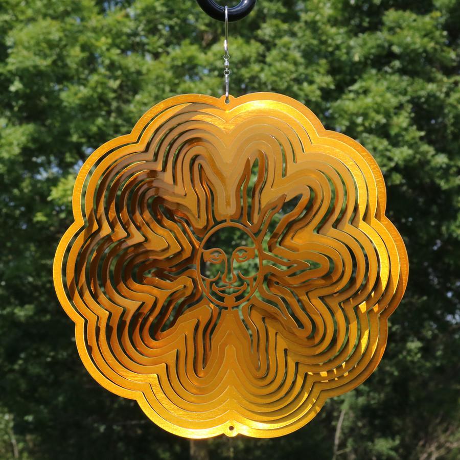 3D Sun Wind Spinner