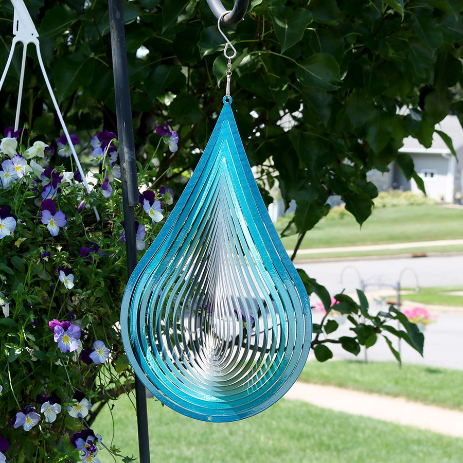 3D Waterdrop Wind Spinner