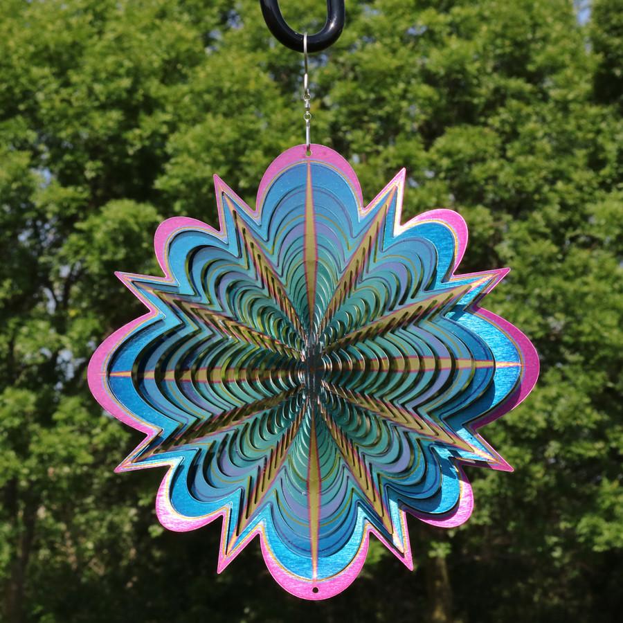 3D Blue Dream Wind Spinner