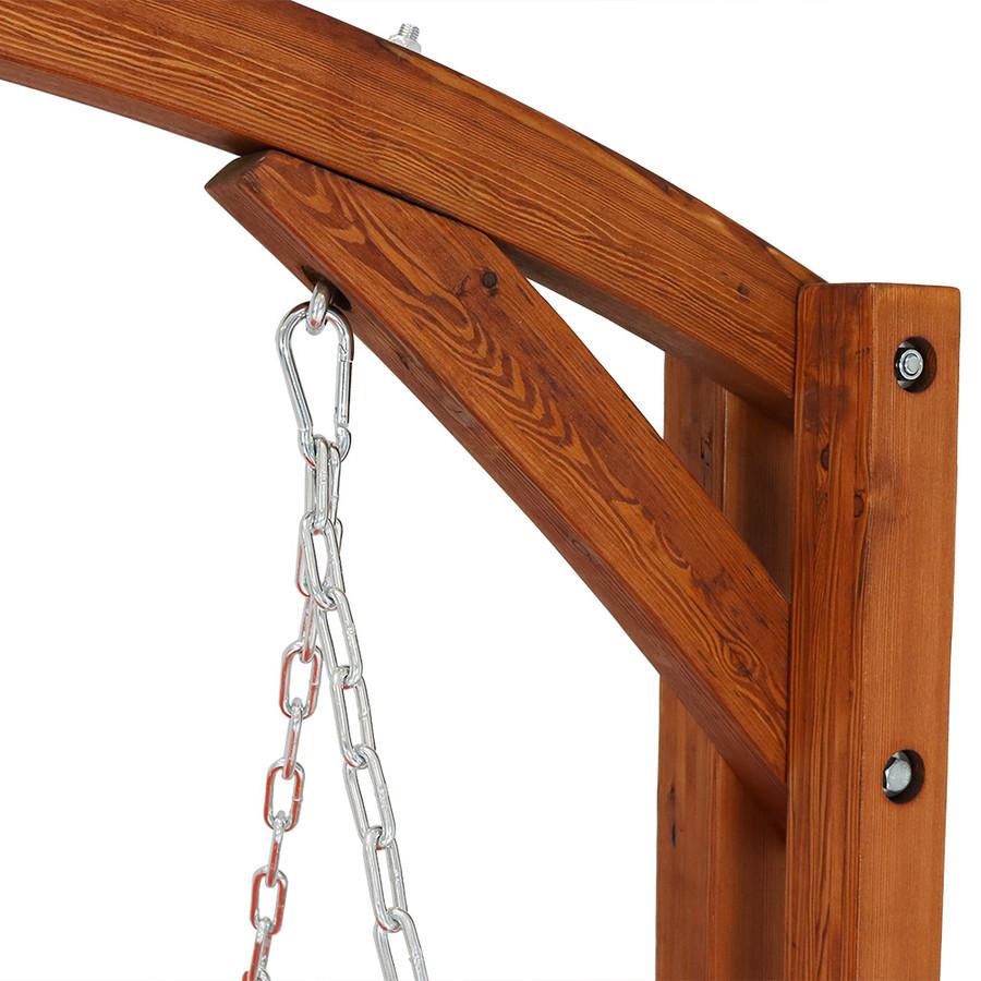 Closeup of Top of Swing