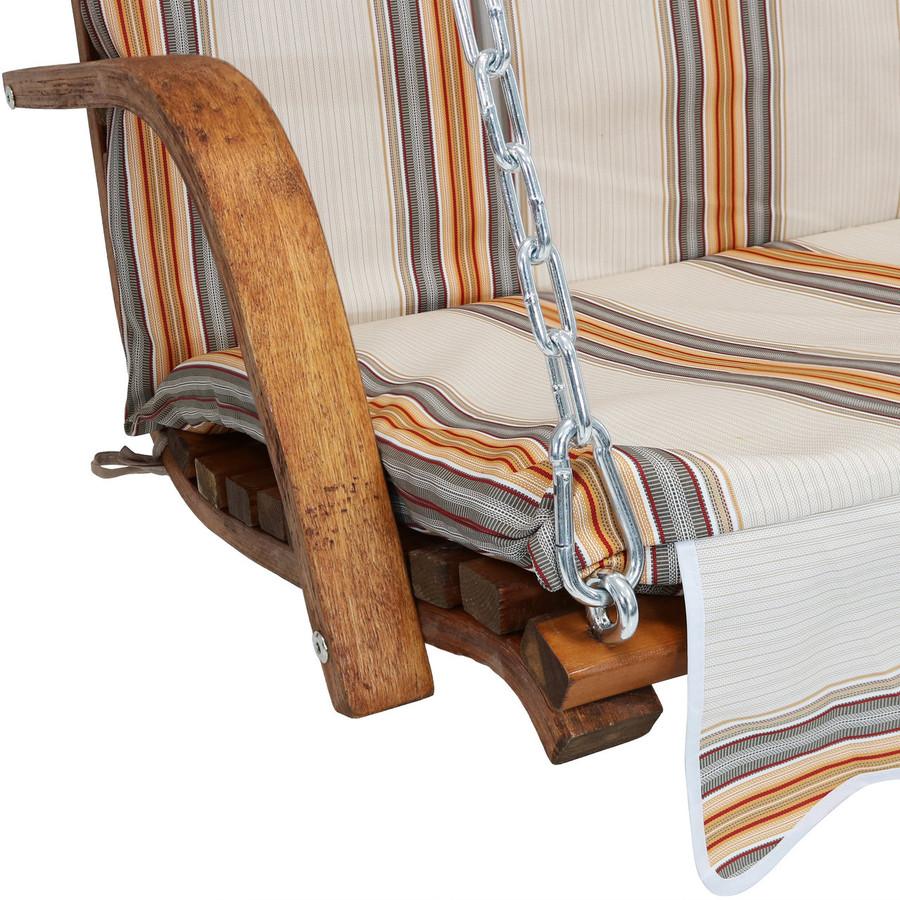 Closeup of Cushion, Orange Cream