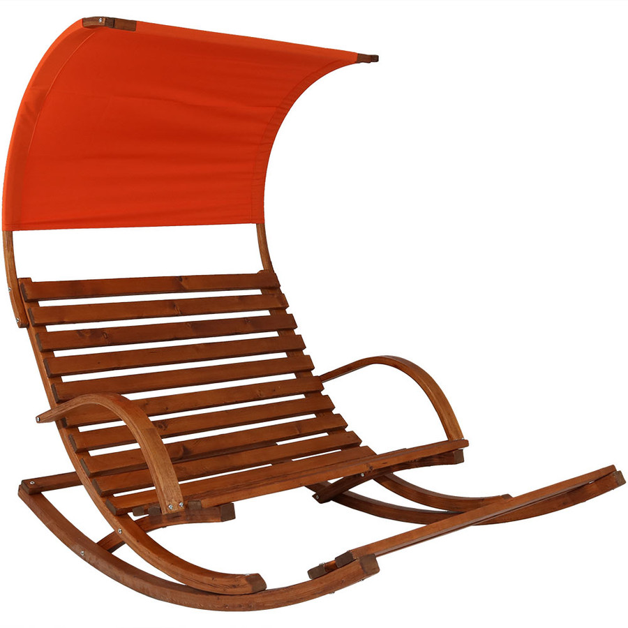Burnt Orange with Canopy - Cushion Off
