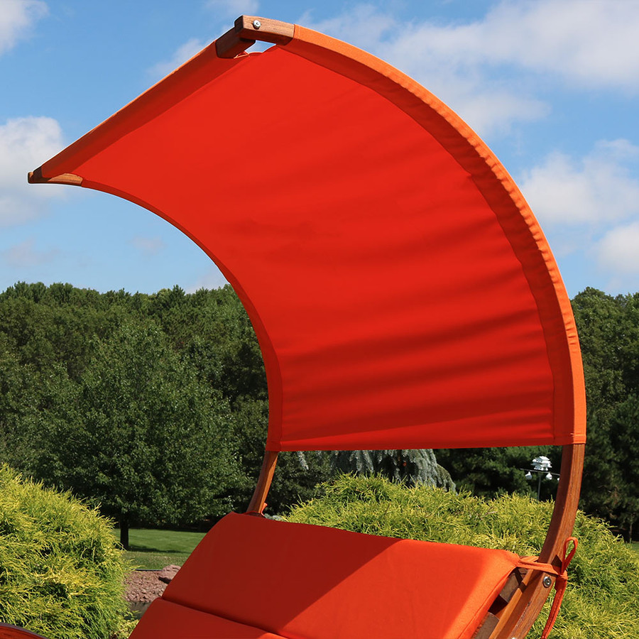 Burnt Orange Canopy