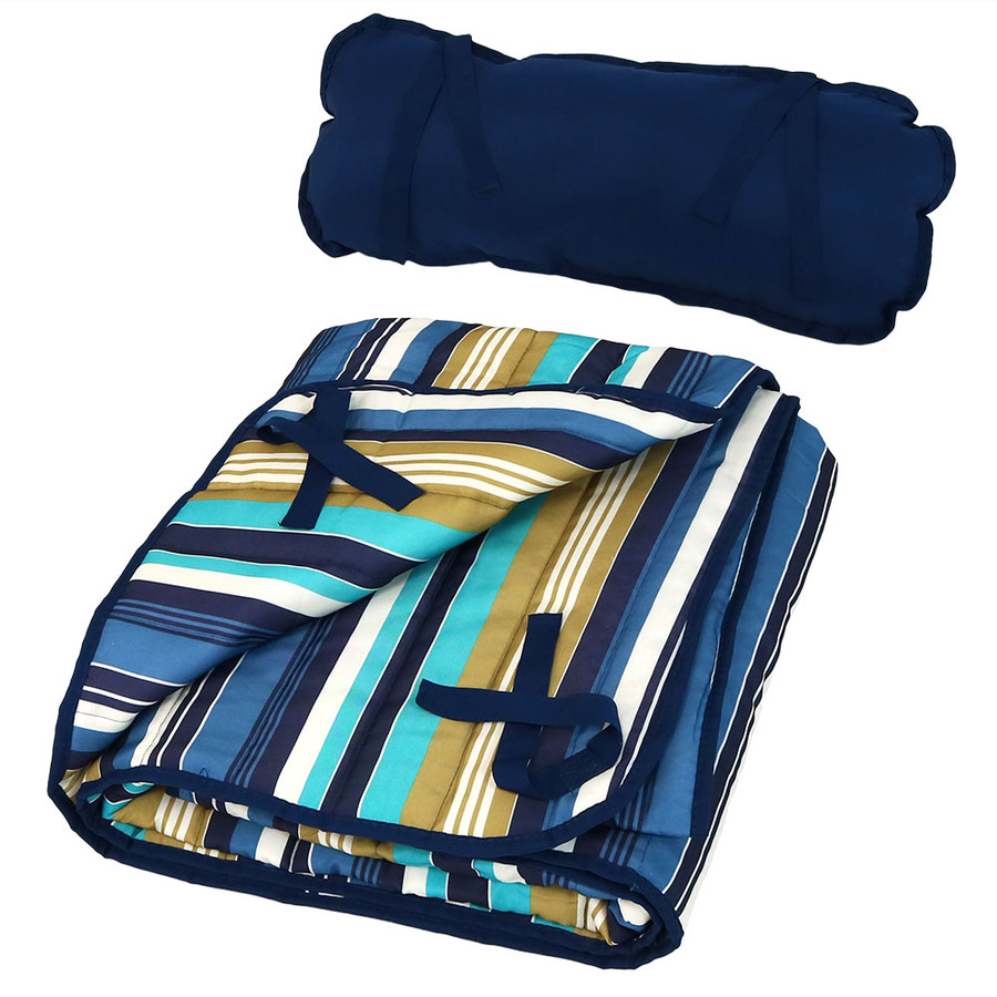 Lakeview Pad and Pillow (Folded)
