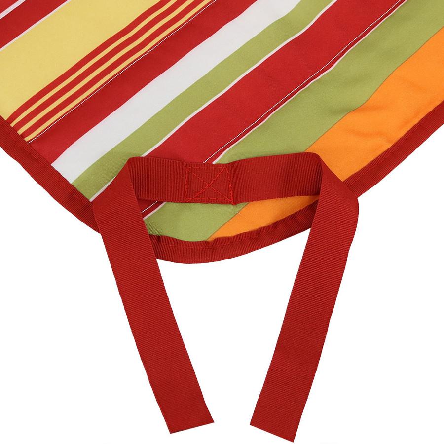 Tropical Orange Stripe Ties