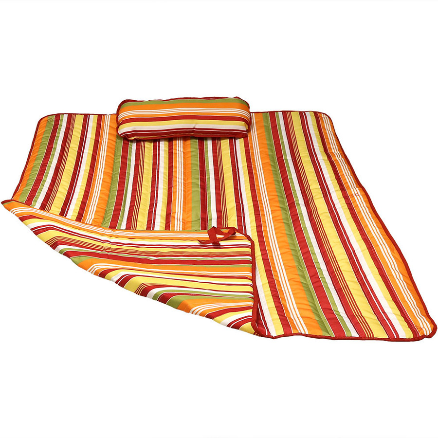 Tropical Orange Stripe