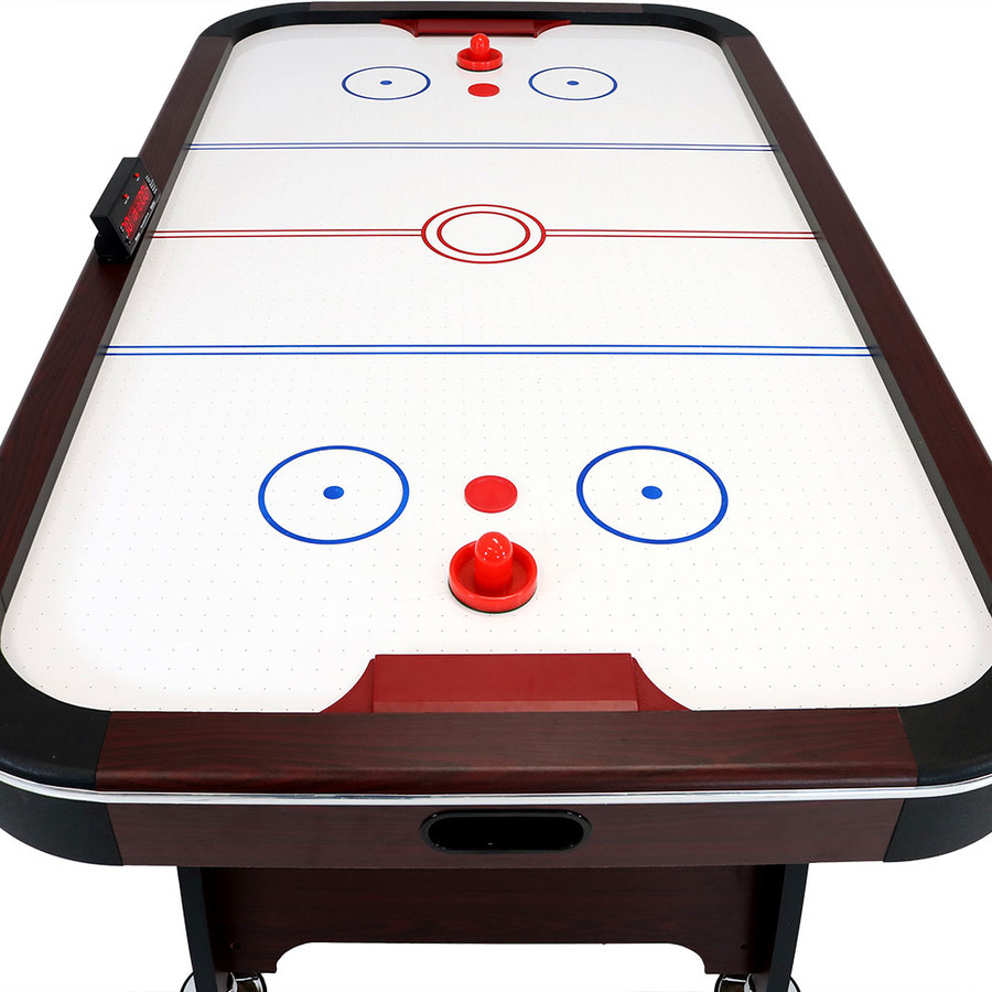 7-Foot Air Hockey Table with Scorer  Closeup