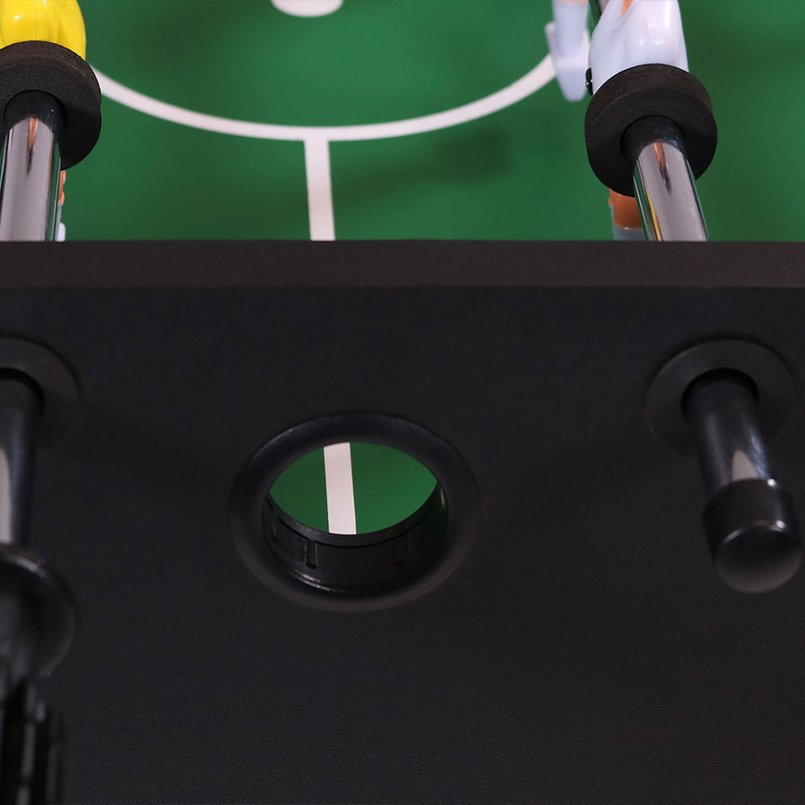 Closeup of the Foosball Game Table