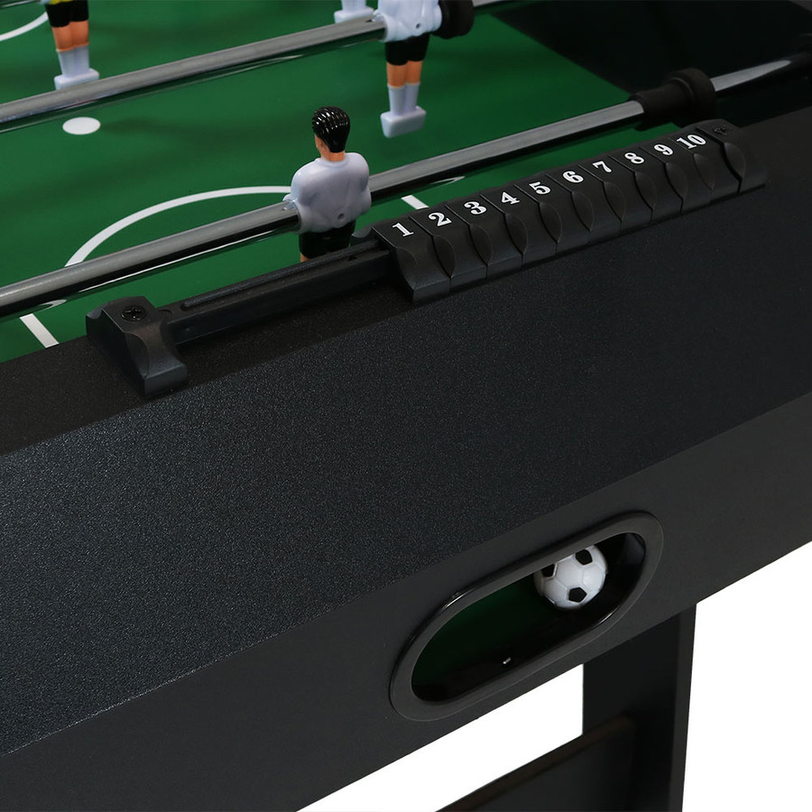 Closeup of the Table and Ball Return