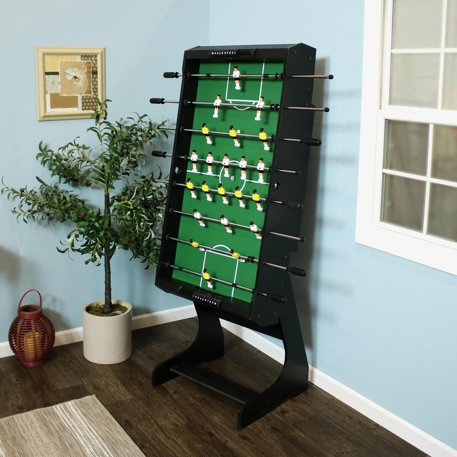 48-Inch Folding Foosball Game Table, Folded