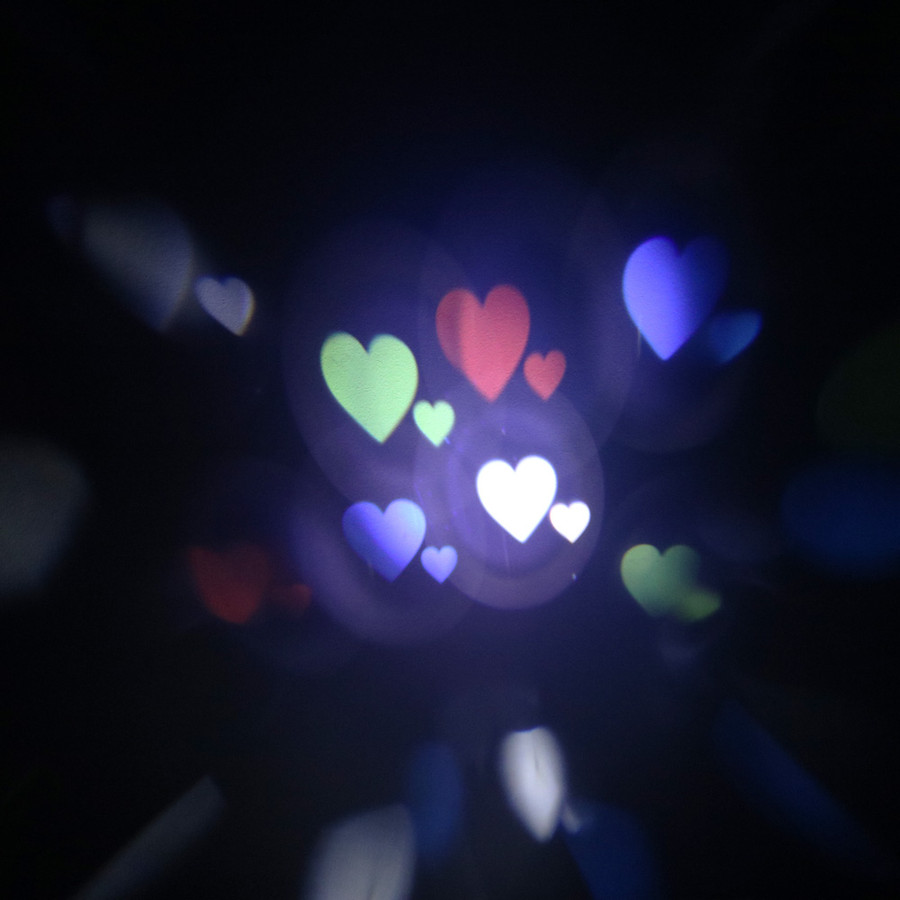 Hearts Projection