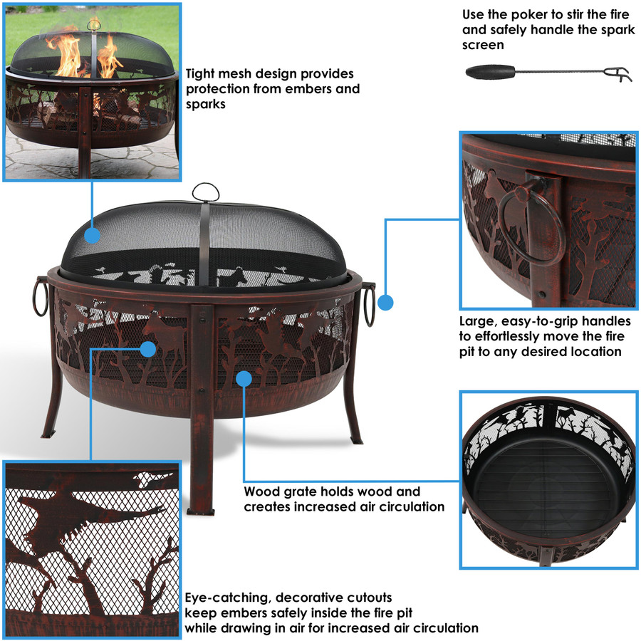 Fire Pit Features