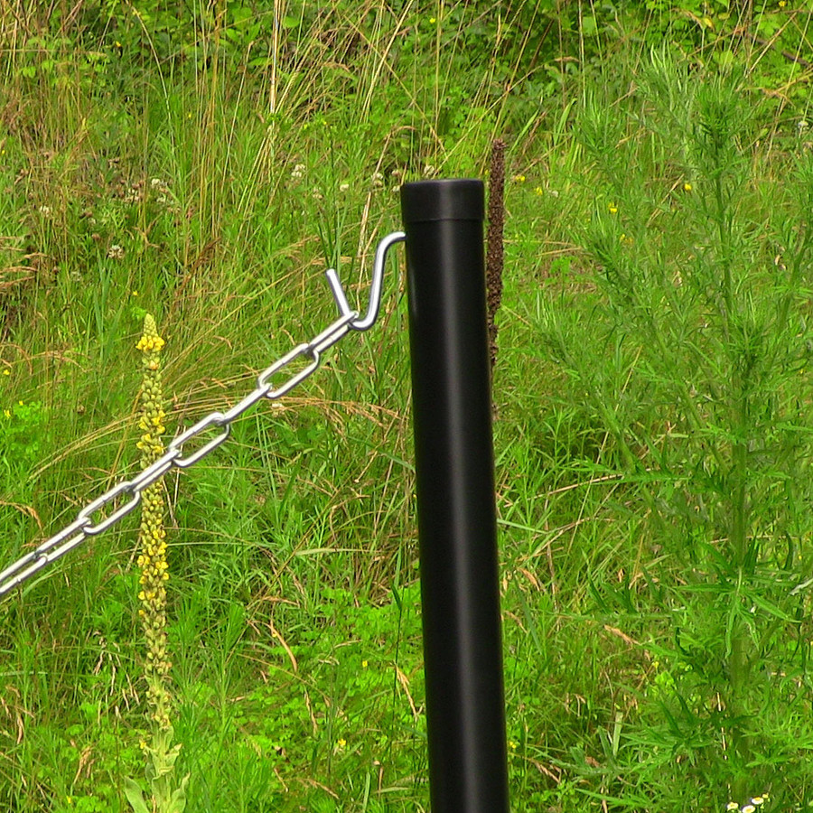 Sunnydaze Removable Black Hammock Ground Post