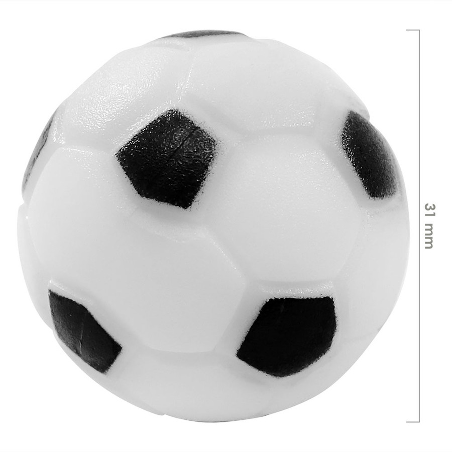 Sunnydaze 36mm Replacement Foosball Table Balls, Standard Size