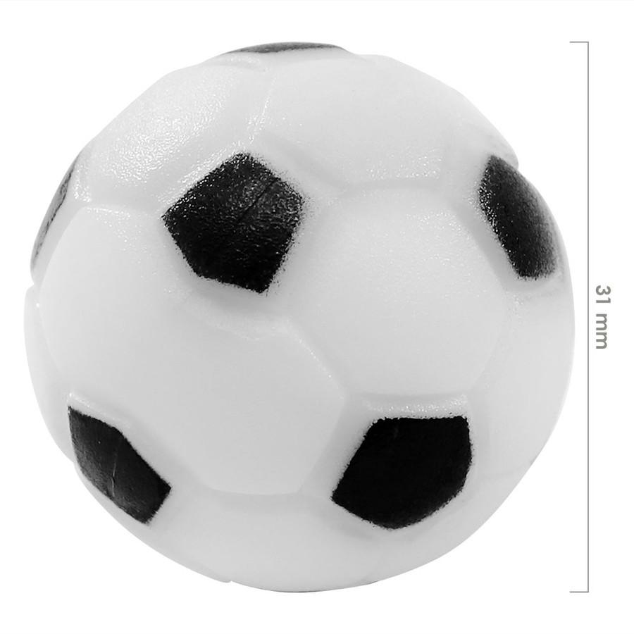 Sunnydaze 36mm Replacement Foosball Table Balls, Standard Size