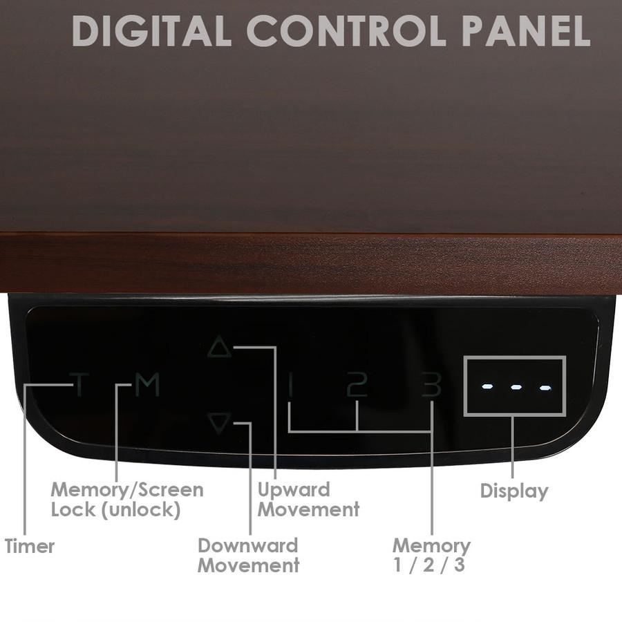 African Walnut Control Panel