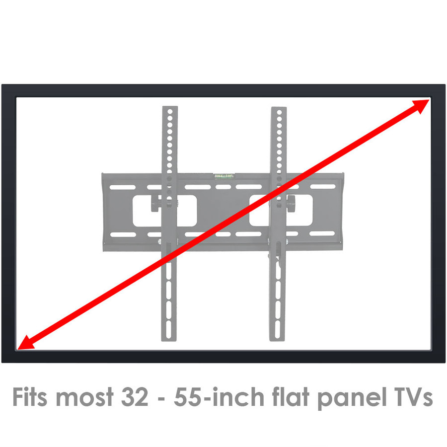 "Fits Most 32""-55"" Flat Screen TVs"
