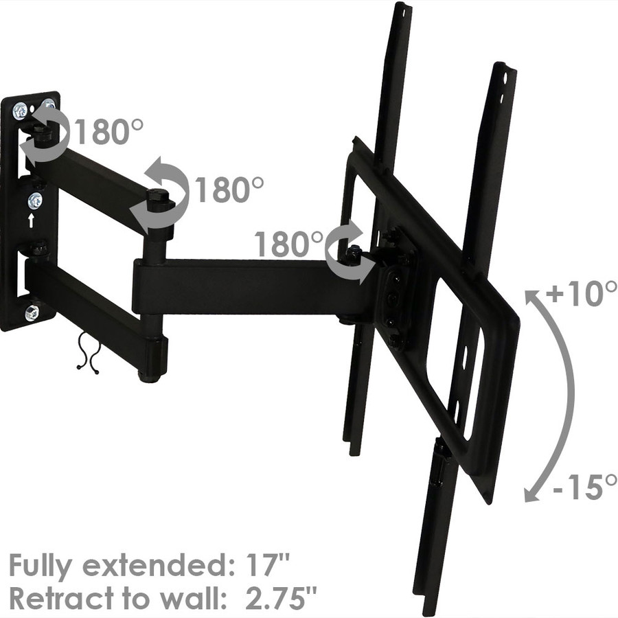 180-Degree Swiveling