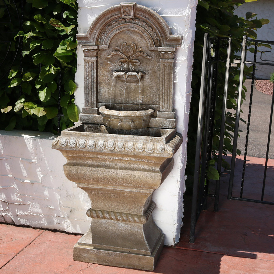 Ornate Lavello Outdoor Water Fountain